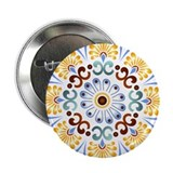 "Golden Mandala 2.25"" Button (10 pack)"