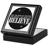 Napoleon Hill Inspirational Saying Keepsake Box
