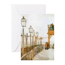 Van Gogh Montmartre Greeting Cards (Pk of 10)