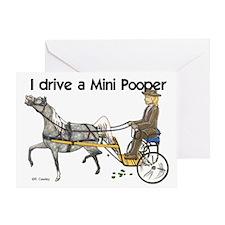 Mini Pooper Greeting Card