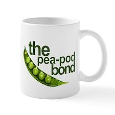 """Pea-Pod Bond"" Small Mugs"