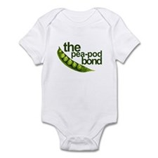 """Pea-Pod Bond"" Infant Bodysuit"