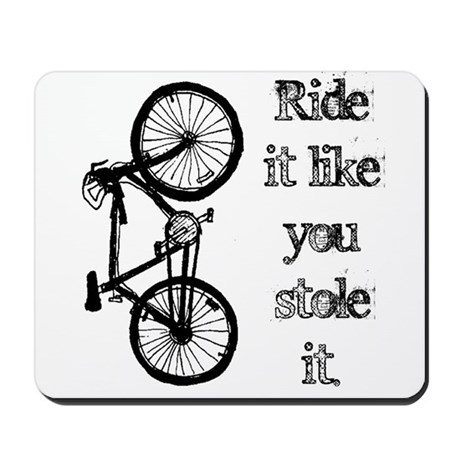 Ride It Mousepad