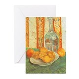 Van Gogh Still Life Decanter Greeting Cards (Pk of