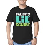 Daddy's Lil' Squirt Men's Fitted T-Shirt (dark)