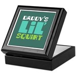 Daddy's Lil' Squirt Keepsake Box
