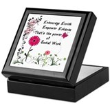 Power of Social Work Keepsake Box