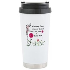 Power of Social Work Ceramic Travel Mug