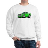 Dodge Demon Green Car Sweatshirt