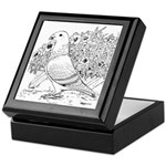 Show Racer Outline Keepsake Box