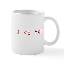 I Less Than 3 You Mug
