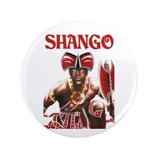 "NEW!!! SHANGO CLOSE-UP 3.5"" Button (100 pack)"