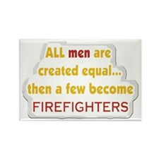 Fireman Equal Rectangle Magnet