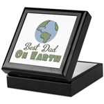 Best Dad On Earth Keepsake Box