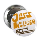 "Jazz Hooligan 2.25"" Button"