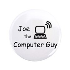 "Joe the plumber 3.5"" Button"