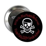 "Xander's Pirate Birthday 2.25"" Button (10 pac"