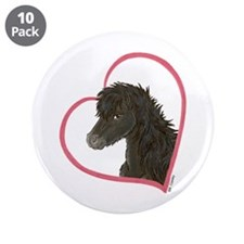 "Dark Horse Heartline 3.5"" Button (10 pack)"
