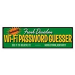 Wi-Fi Password Guesser sticker