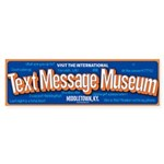 Text Message Museum sticker