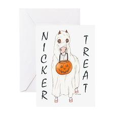 Nicker Treat Greeting Card