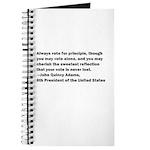 John Quincy Adams Quote Journal