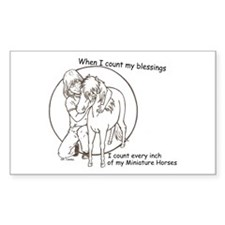 Mini Blessings 2 Rectangle Decal