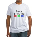 I'm a TRS-80 Fitted T-Shirt