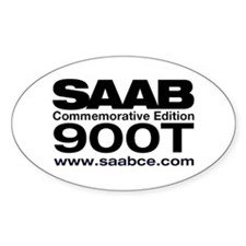 SAAB 900 Commemorative Edition Euro Decal