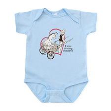 Driving Donkeys Infant Bodysuit