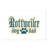 Rottweiler Dad Postcards (Package of 8)