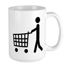 shopping cart icon Mug