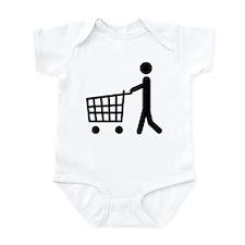 shopping cart icon Infant Bodysuit
