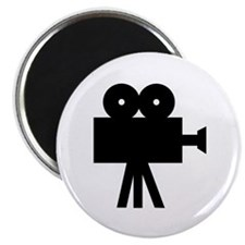 hollywood movie camera Magnet