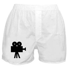 hollywood movie camera Boxer Shorts
