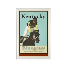 Travel Kentucky Rectangle Magnet