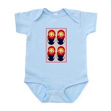 Russian Dolls  Infant Creeper