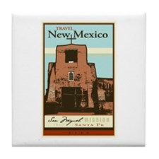 Travel New Mexico Tile Coaster