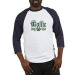 Collie Dad Baseball Jersey