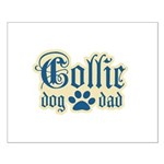 Collie Dad Small Poster