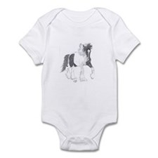 Funny Gypsy vanner Infant Bodysuit