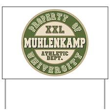 Muhlenkamp Athletic Department Yard Sign