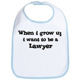 Be A Lawyer Bib