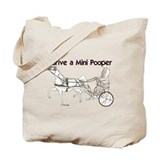 I Drive A Mini Pooper Tote Bag