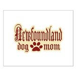 Newfoundland Mom Small Poster