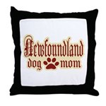 Newfoundland Mom Throw Pillow