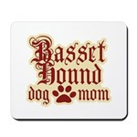 Basset Hound Mom Mousepad