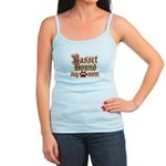 Basset Hound Mom Jr. Spaghetti Tank
