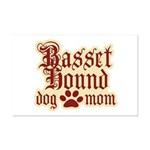 Basset Hound Mom Mini Poster Print