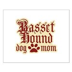 Basset Hound Mom Small Poster